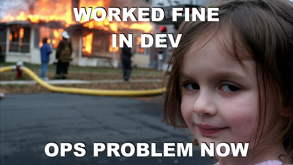 20 WORKED FINE IN DEV OPS PROBLEM NOW