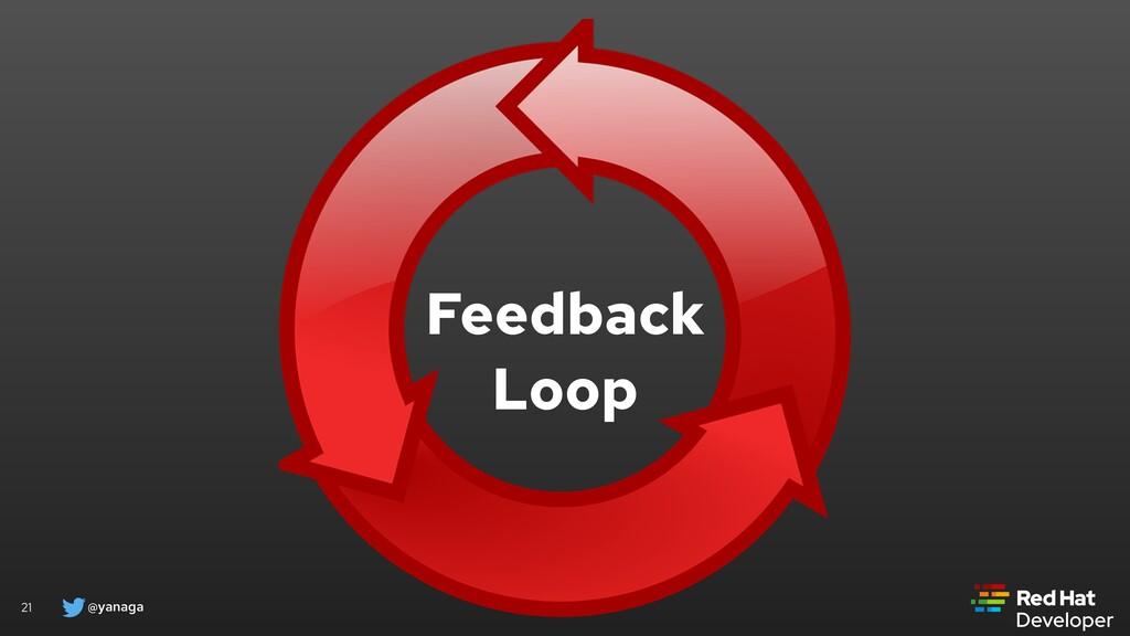 @yanaga 21 Feedback Loop