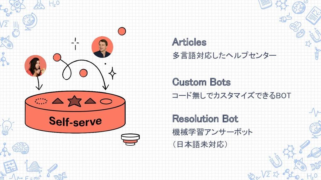 Articles 多言語対応したヘルプセンター  Custom Bots コード無しで...