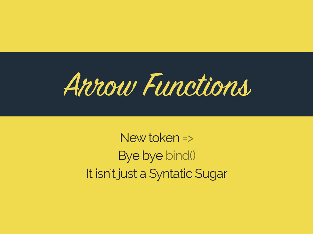 New token => Bye bye bind() It isn't just a Syn...
