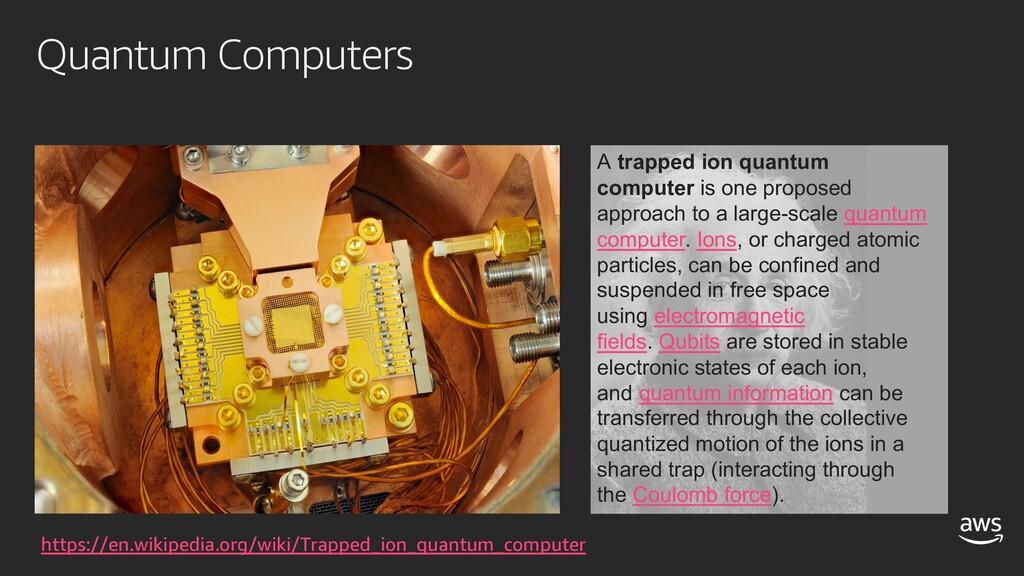 Quantum Computers https://en.wikipedia.org/wiki...