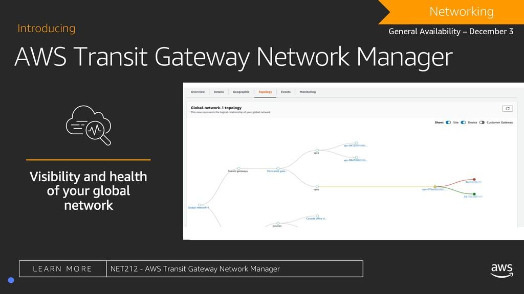 AWS Transit Gateway Network Manager Introducing...