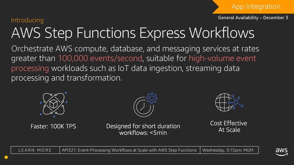 AWS Step Functions Express Workflows Introducin...