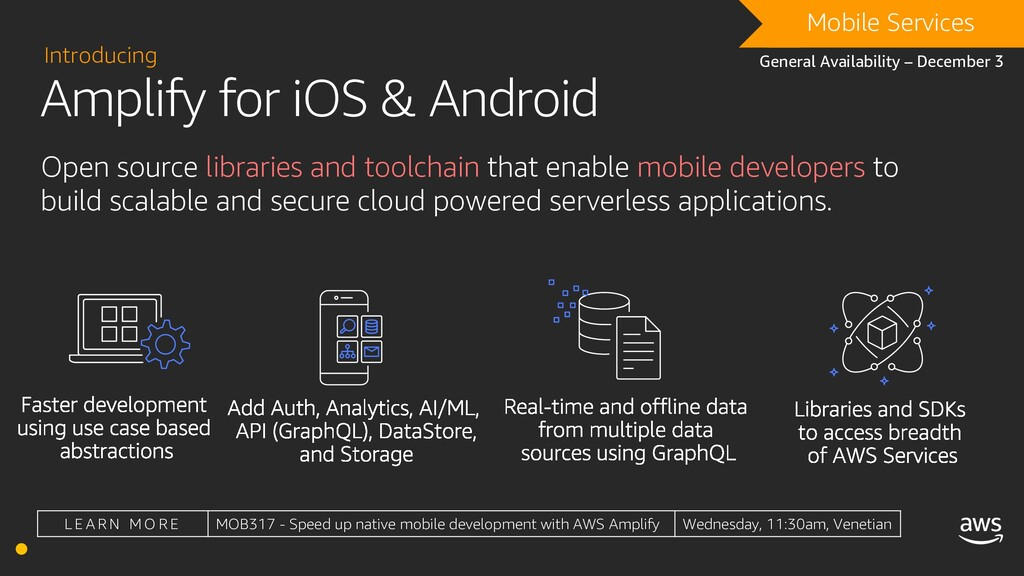 Amplify for iOS & Android Introducing DRAFT Mob...