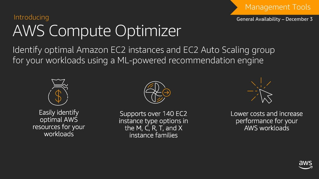AWS Compute Optimizer Introducing Identify opti...