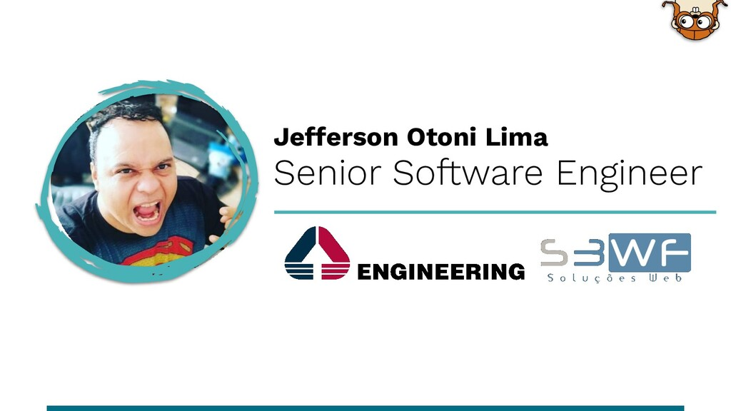 Senior Software Engineer Jefferson Otoni Lima