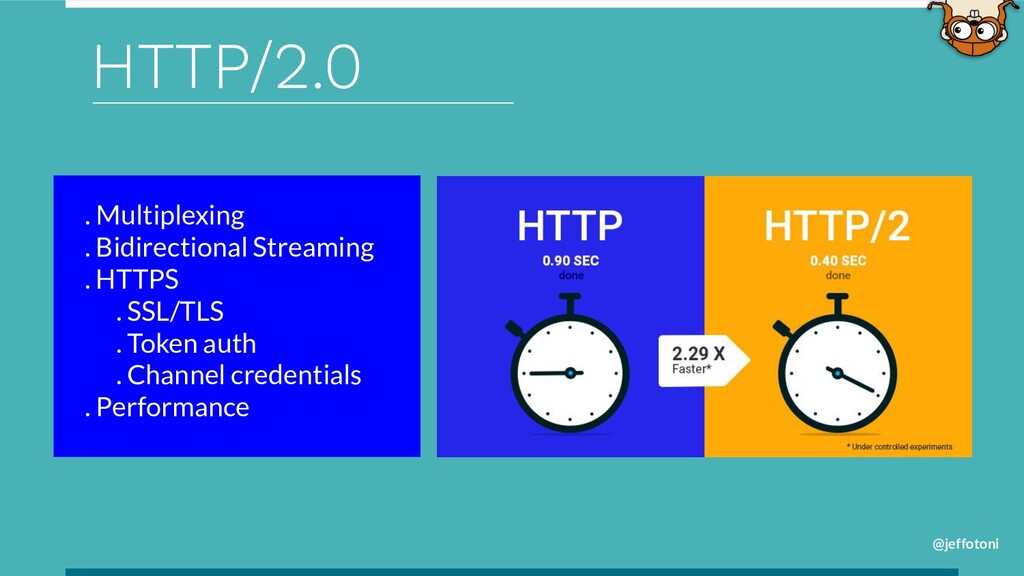 @jeffotoni HTTP/2.0 . Multiplexing . Bidirectio...