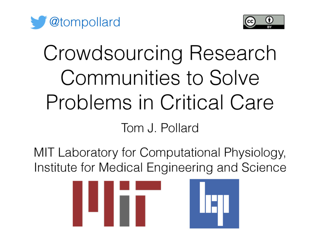 Crowdsourcing Research Communities to Solve Pro...