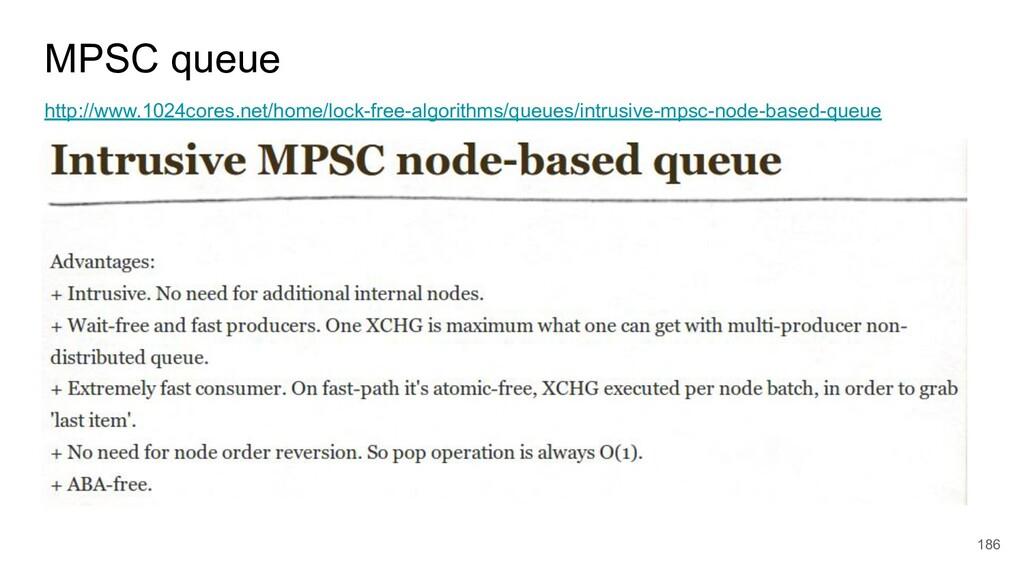 MPSC queue http://www.1024cores.net/home/lock-f...