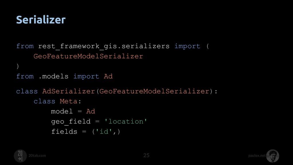 paulox.net 20tab.com Serializer 25 from rest_fr...