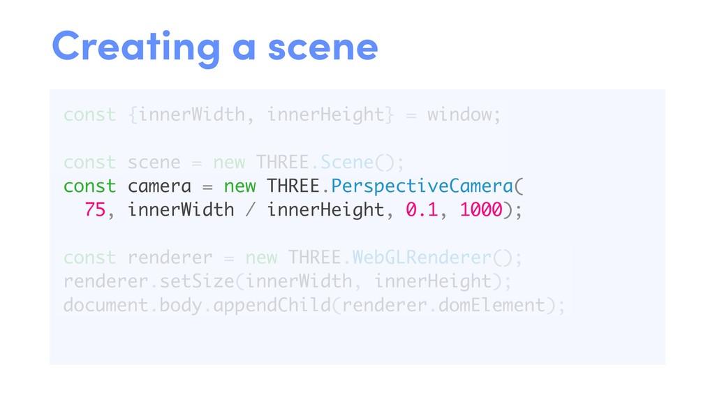 const {innerWidth, innerHeight} = window; const...