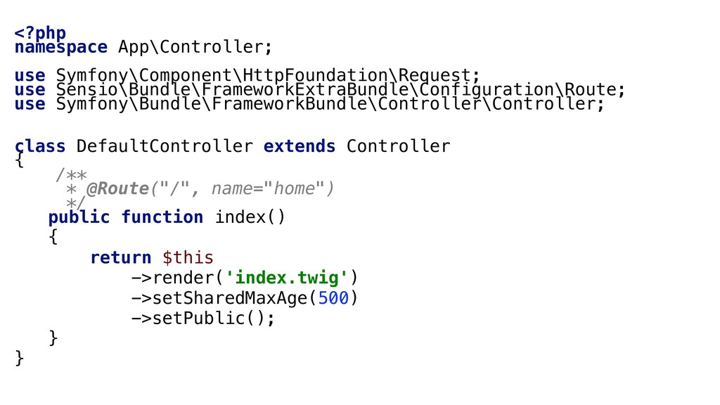 <?php namespace App\Controller; use Symfony\Com...