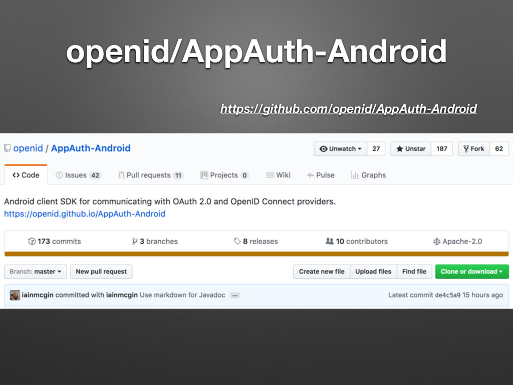 openid/AppAuth-Android https://github.com/openi...