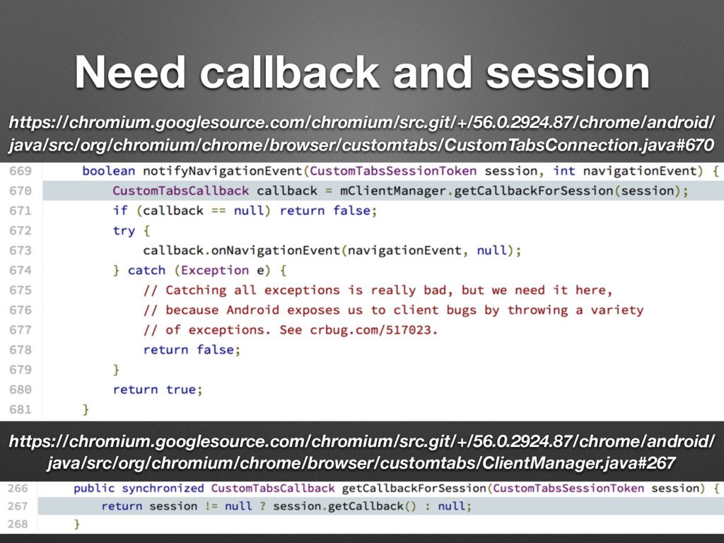 Need callback and session https://chromium.goog...