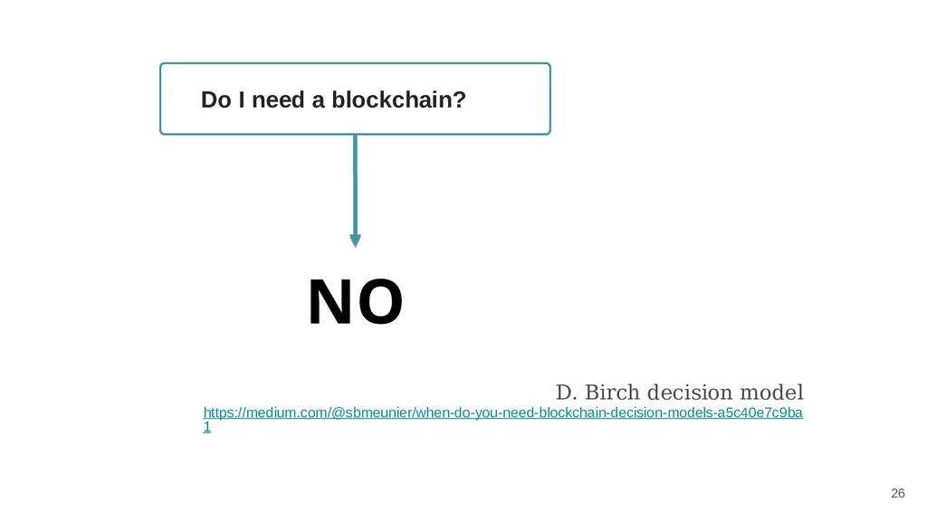 D. Birch decision model https://medium.com/@sbm...