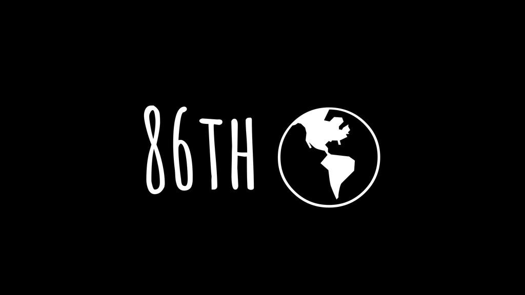 "86th """