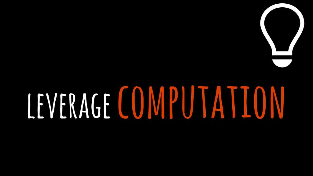 leverage computation %