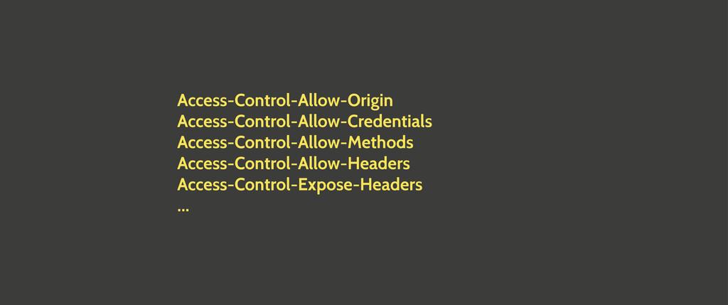 Access-Control-Allow-Origin Access-Control-Allo...