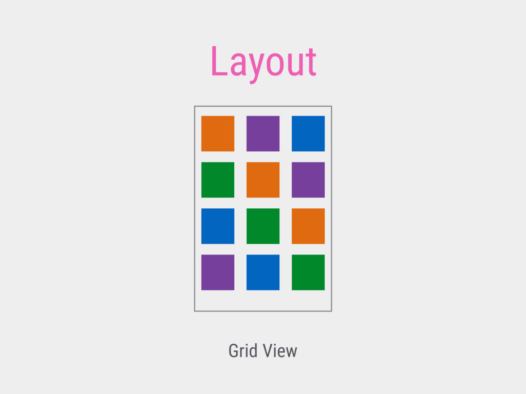 Layout Grid View
