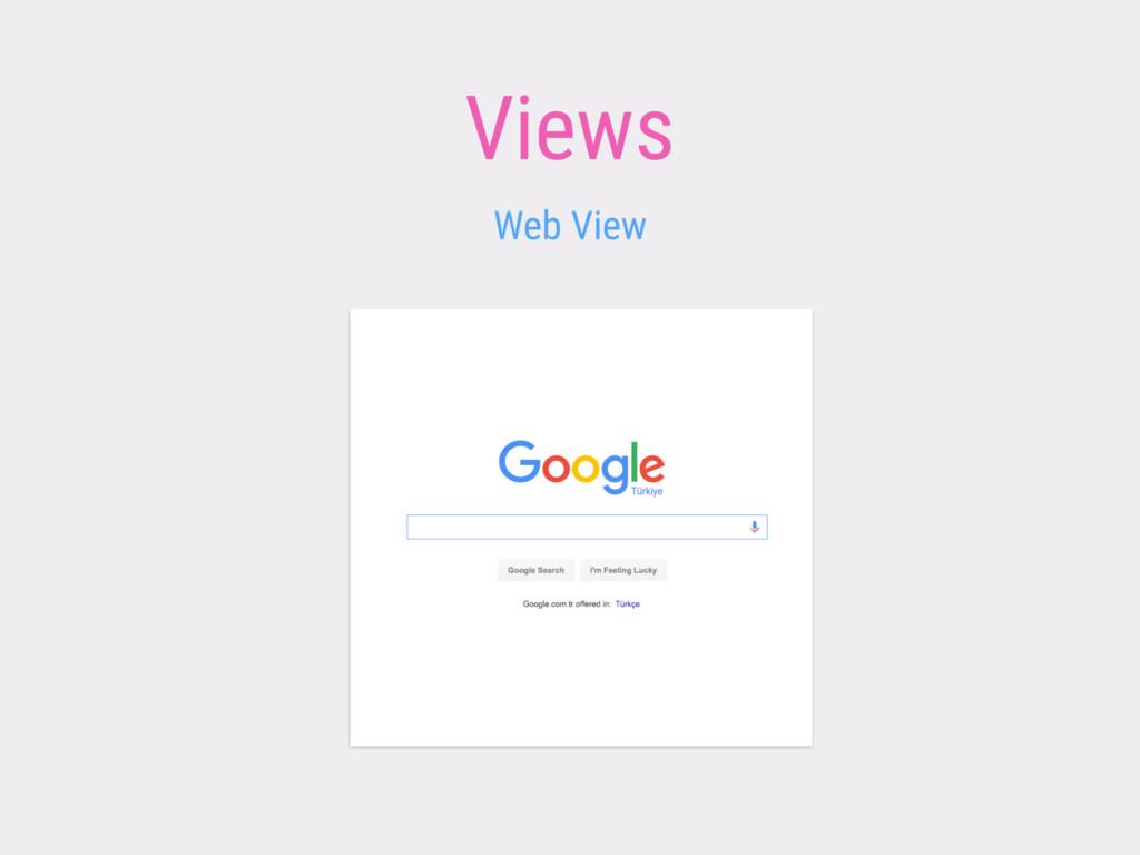 Views Web View