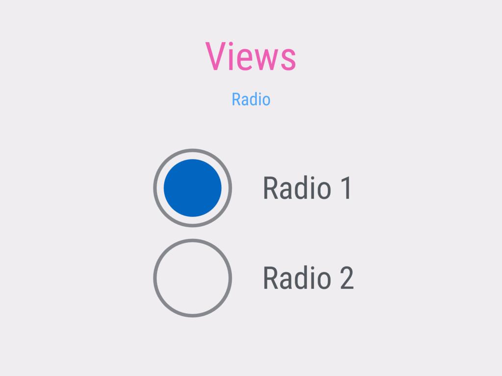 Views Radio Radio 1 Radio 2
