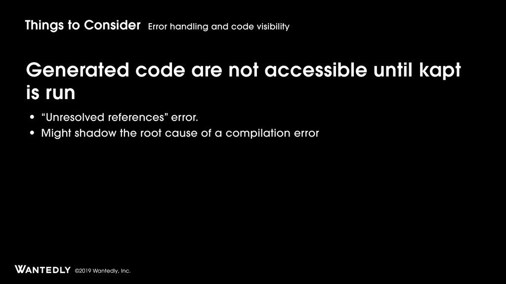 ©2019 Wantedly, Inc. Generated code are not acc...