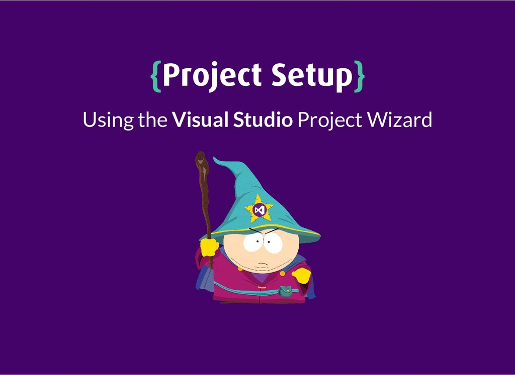 { {Project Setup Project Setup} } Using the Vis...