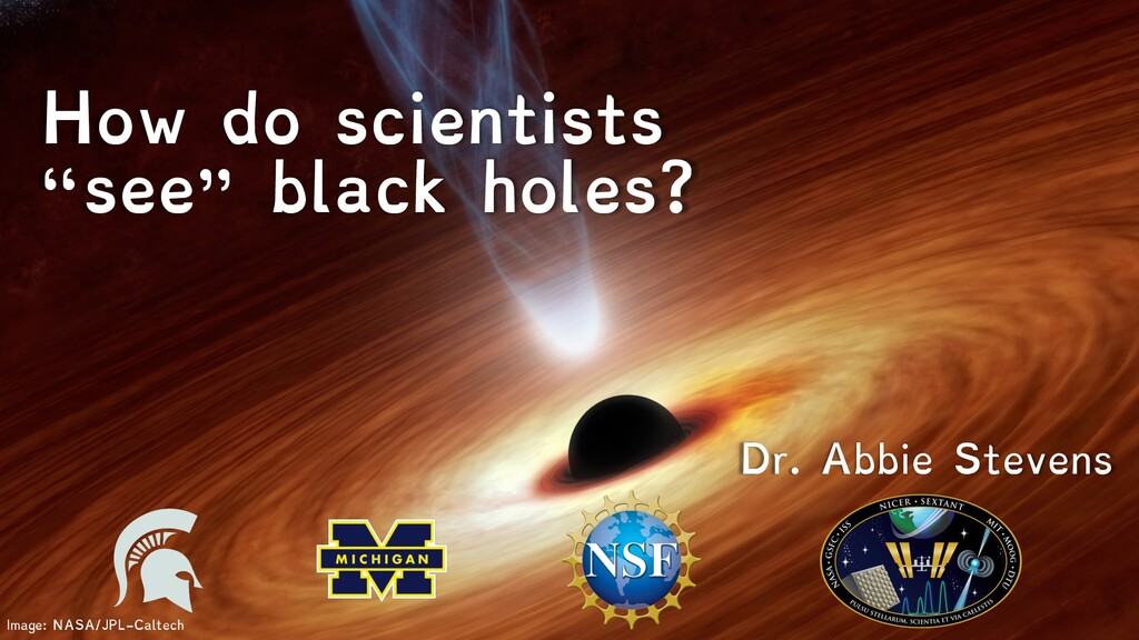 """Image: NASA/JPL-Caltech How do scientists """"see""""..."""