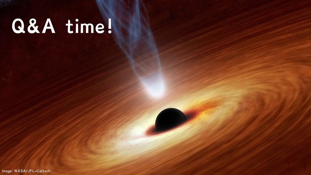 Image: NASA/JPL-Caltech Q&A time!