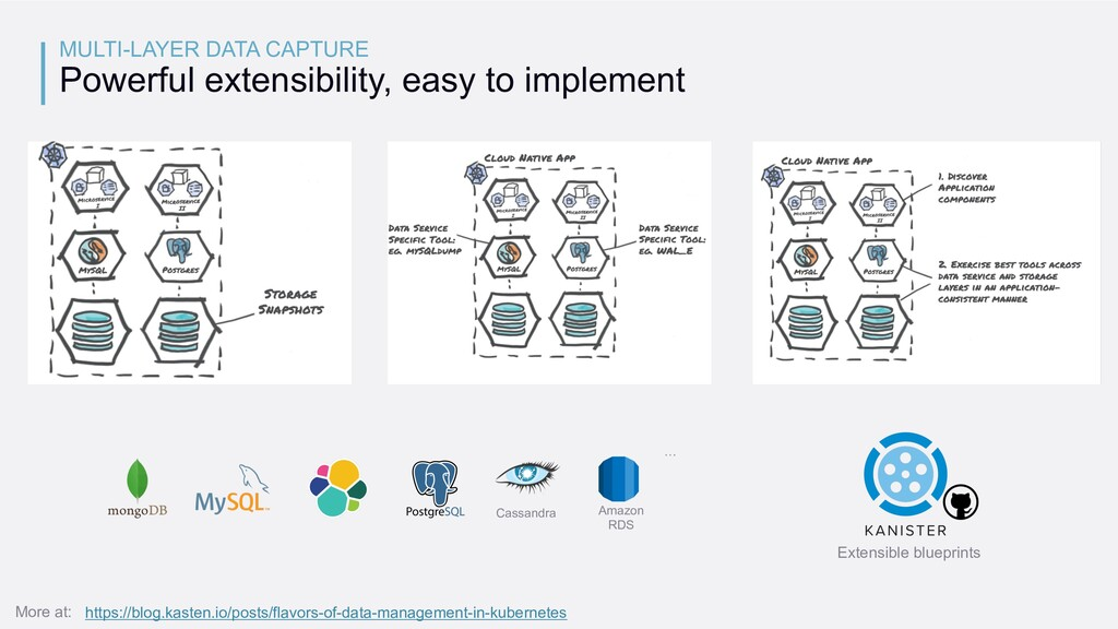MULTI-LAYER DATA CAPTURE Powerful extensibility...