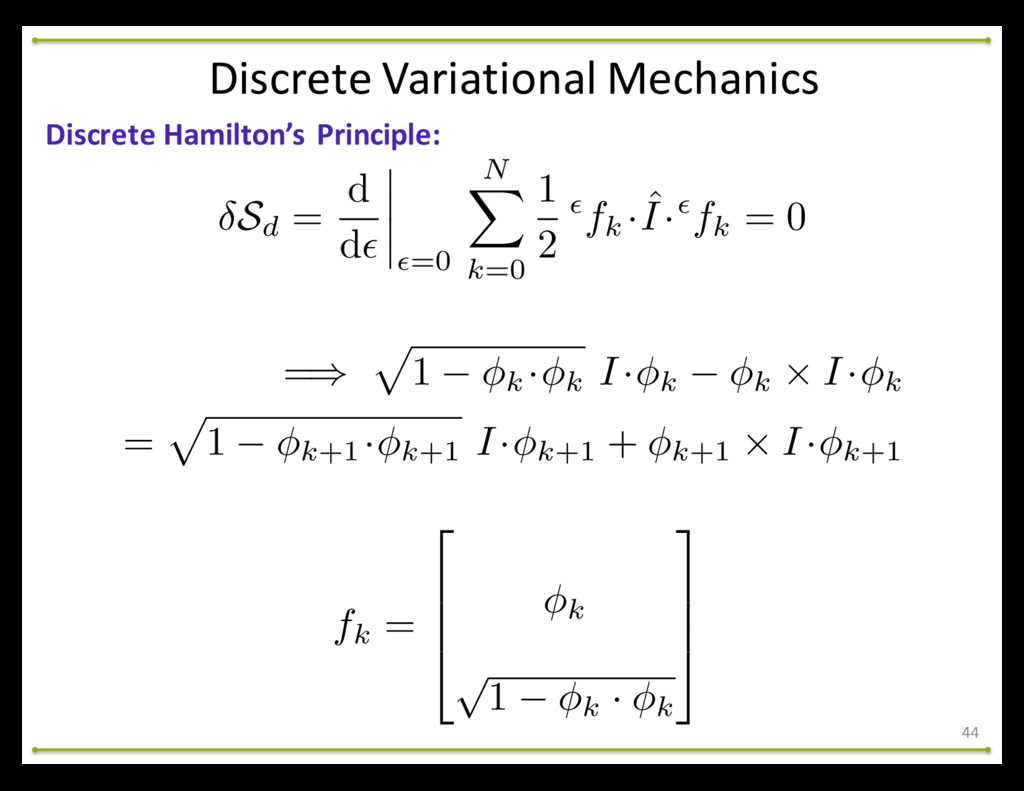 44 Discrete Hamilton's Principle: Discret...