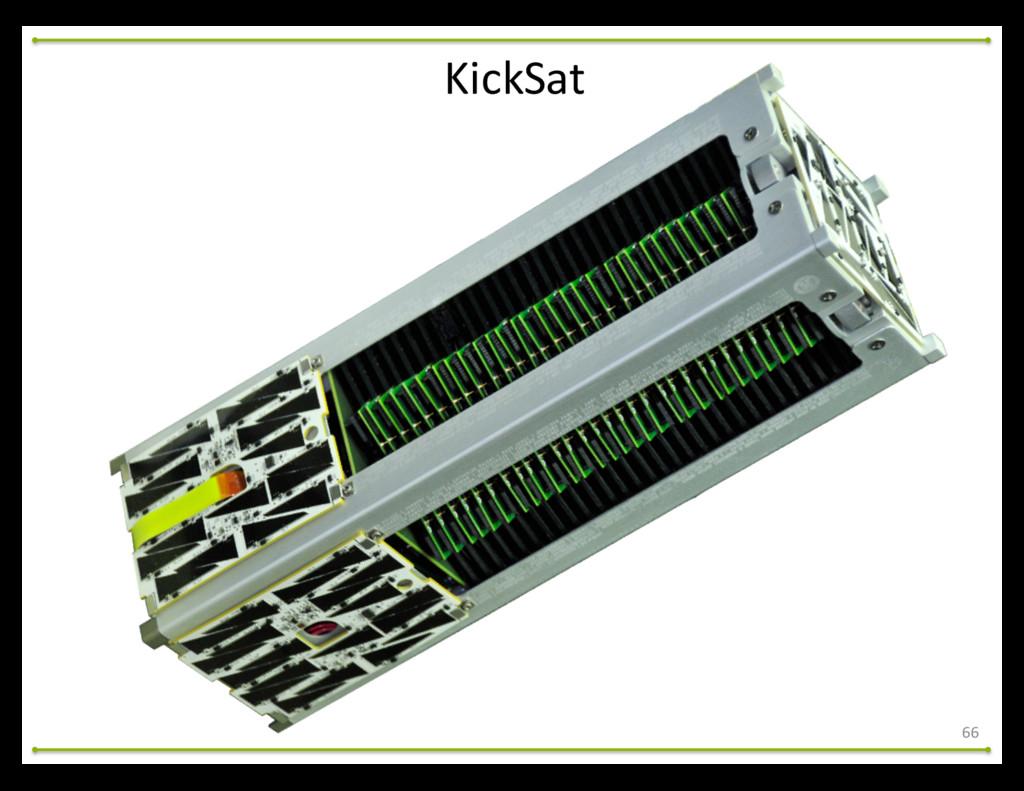 66 KickSat