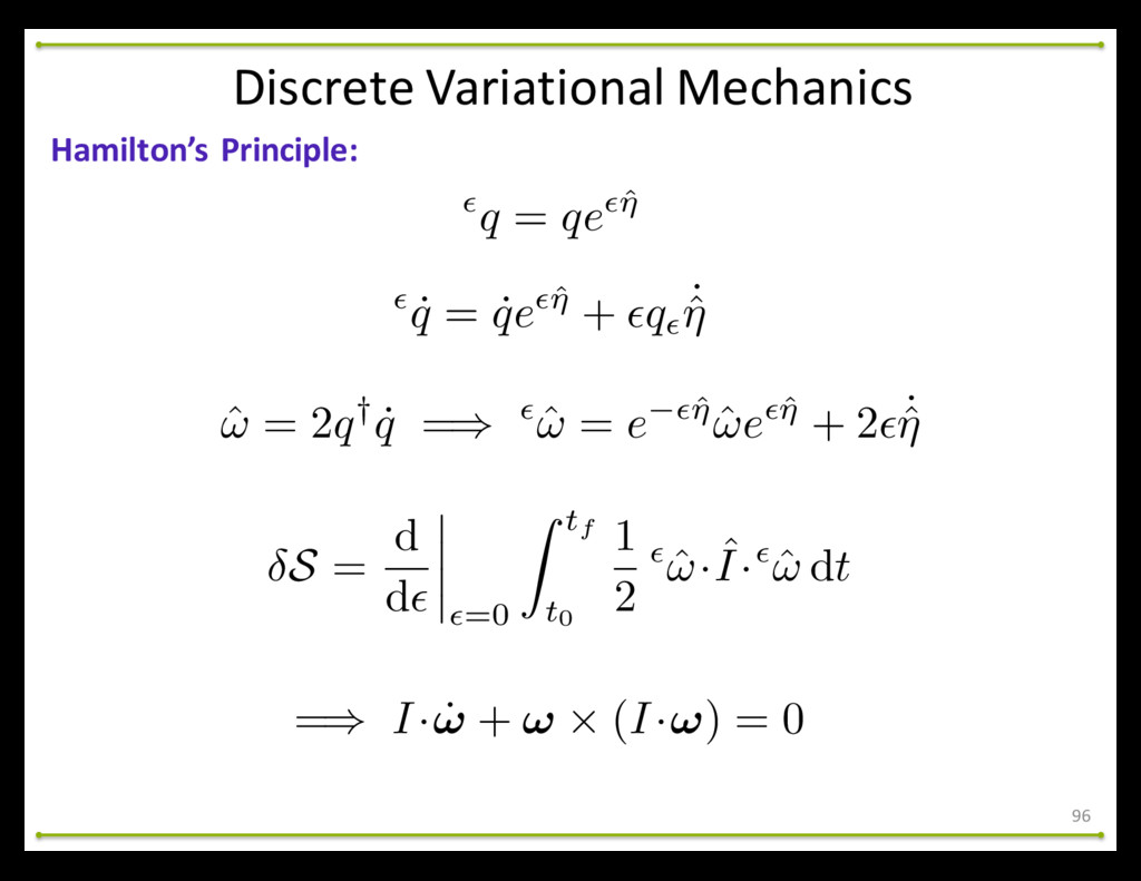 96 Hamilton's Principle: Discrete Variati...