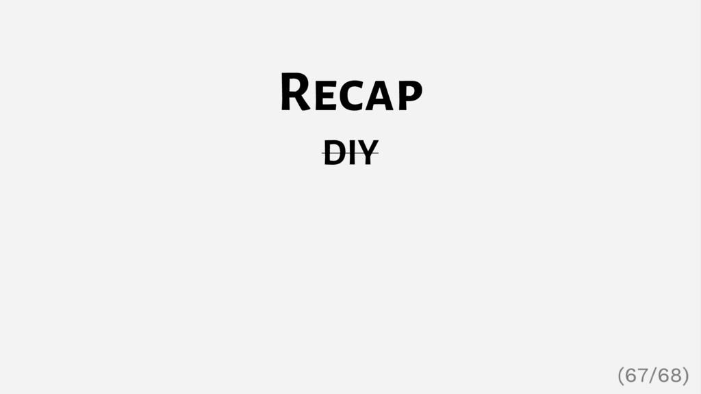 Recap DIY