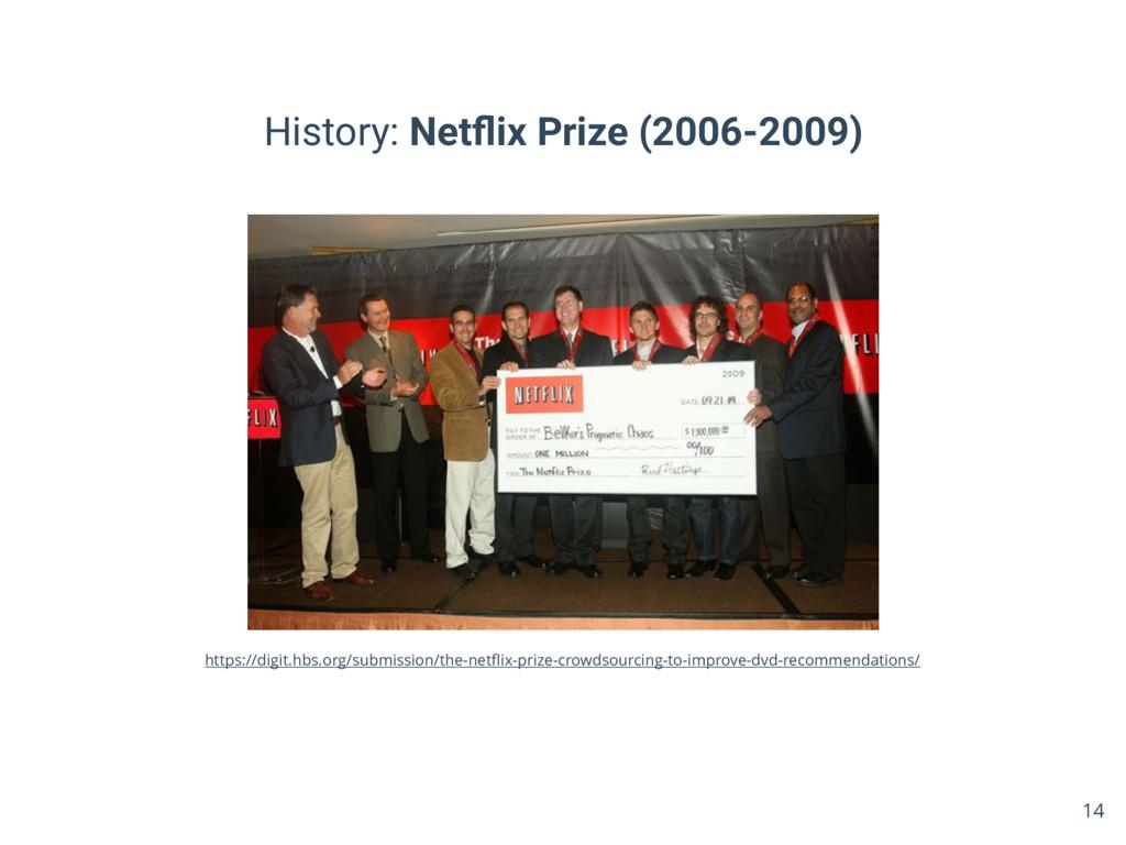 History: Netflix Prize (2006-2009) 14 https://di...