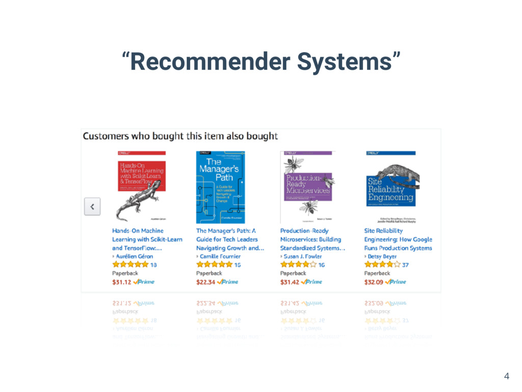 """""""Recommender Systems"""" 4"""