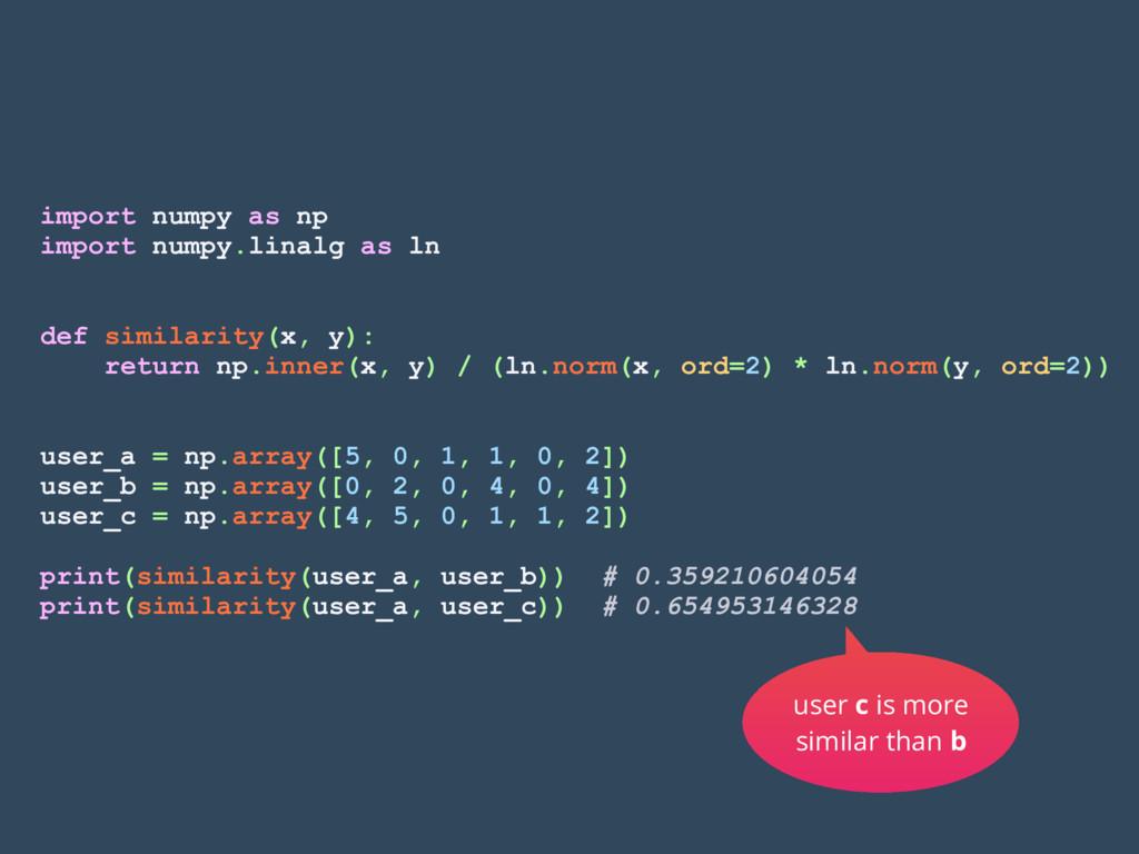 import numpy as np import numpy.linalg as ln de...
