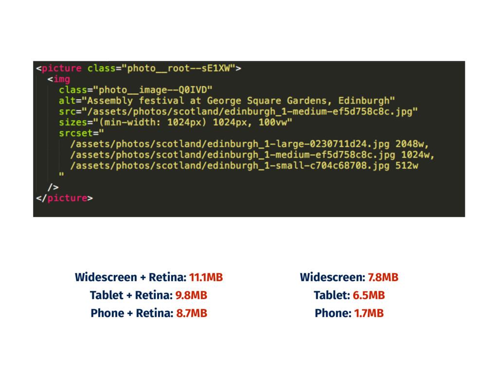 Widescreen + Retina: 11.1MB Tablet + Retina: 9....