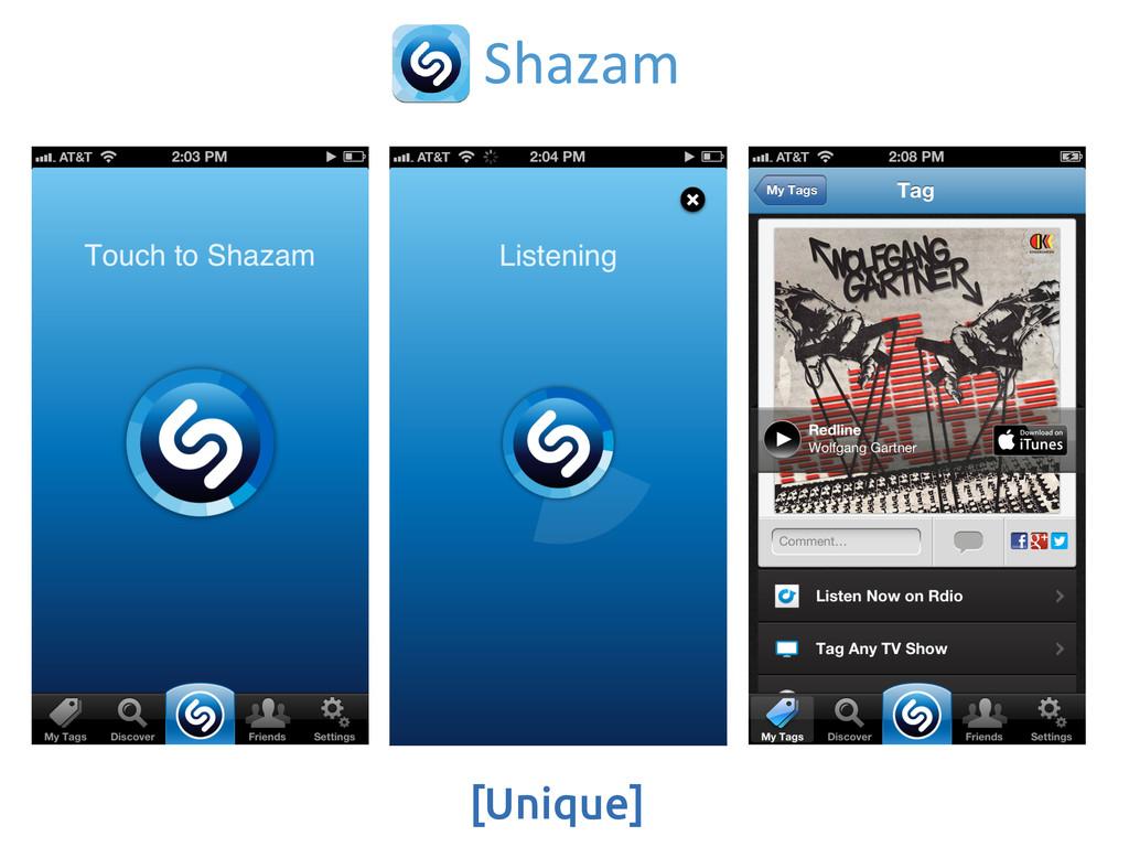 [Unique] Shazam