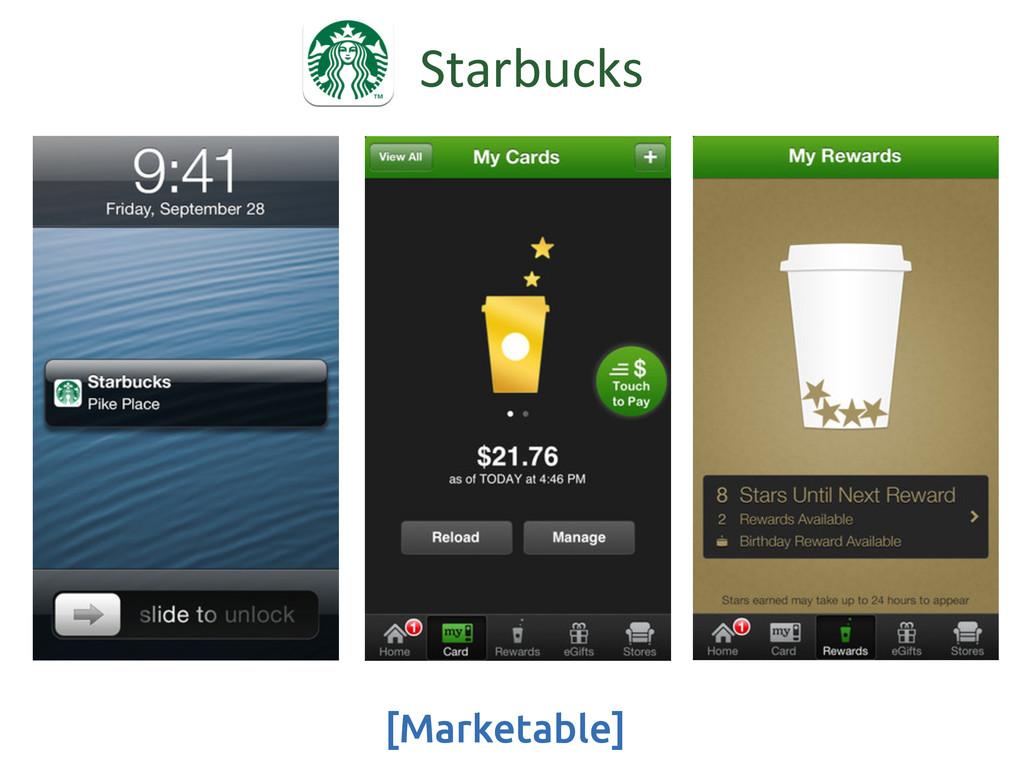 [Marketable] Starbucks