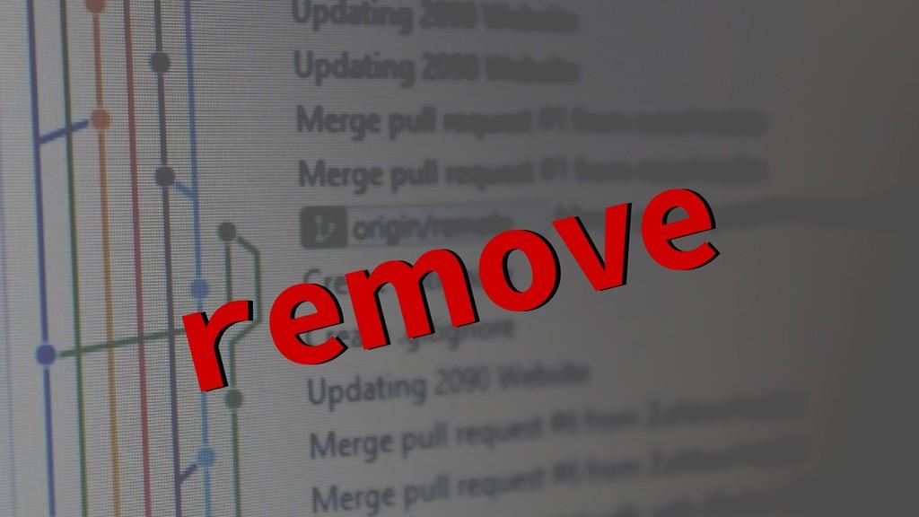 remove remove