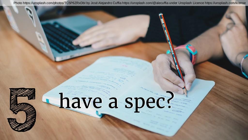 have a spec? have a spec? 5 Photo https://unspl...