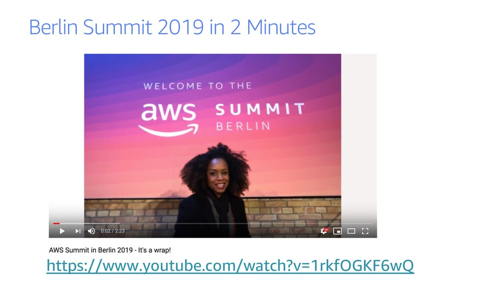Berlin Summit 2019 in 2 Minutes https://www.you...