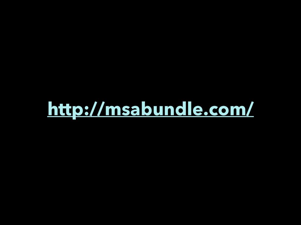 http://msabundle.com/
