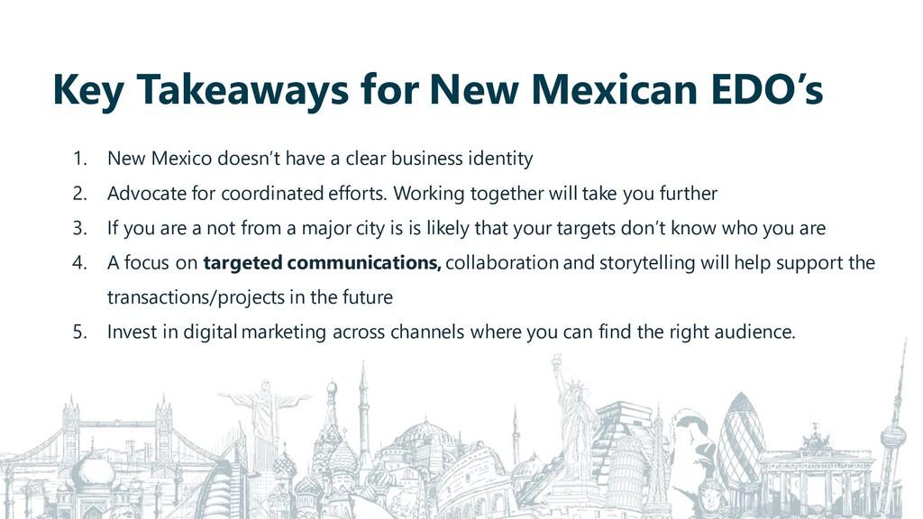 Key Takeaways for New Mexican EDO's 1. New Mexi...