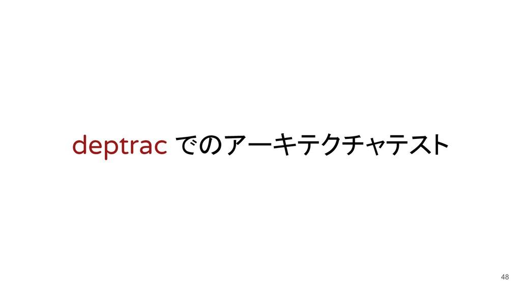 deptrac でのアーキテクチャテスト 48
