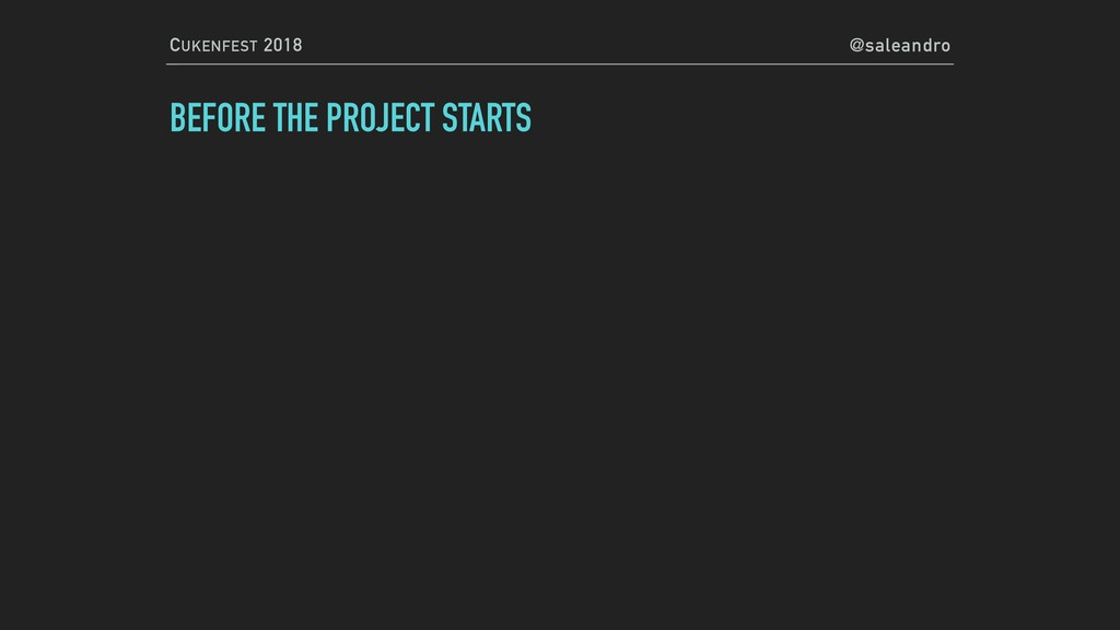 CUKENFEST 2018 @saleandro BEFORE THE PROJECT ST...