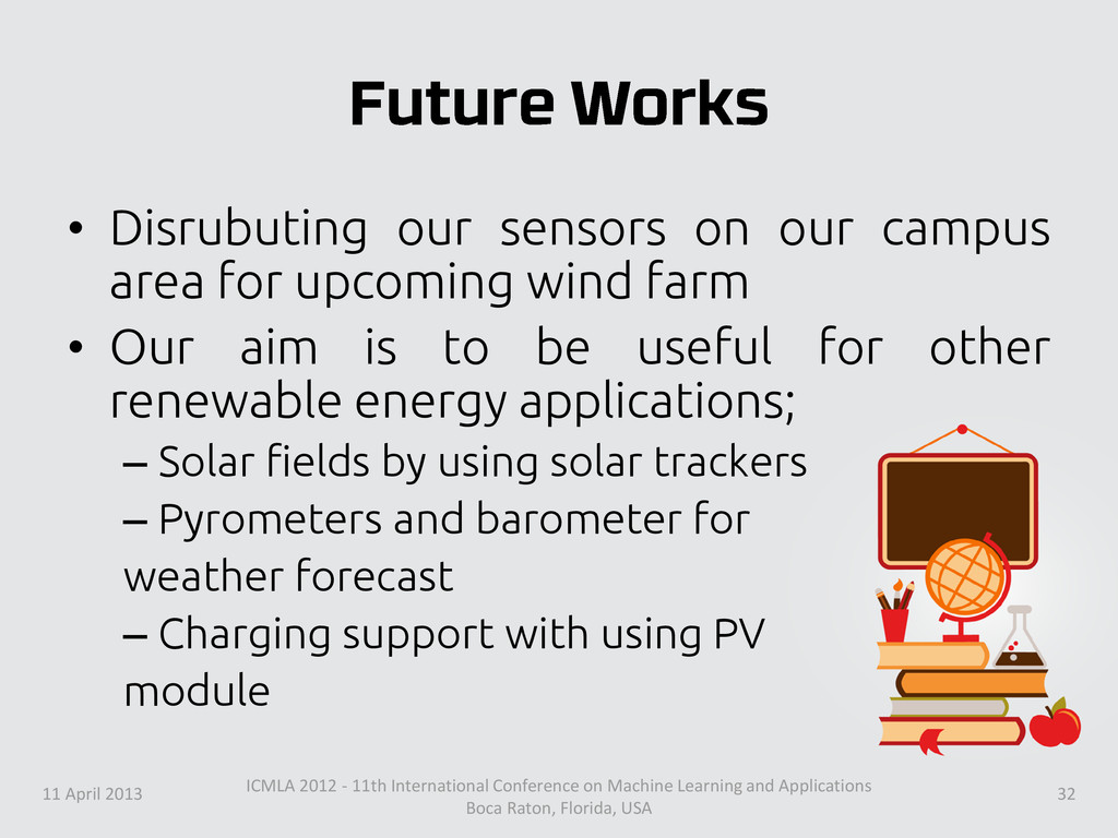 • Disrubuting our sensors on our campus area fo...