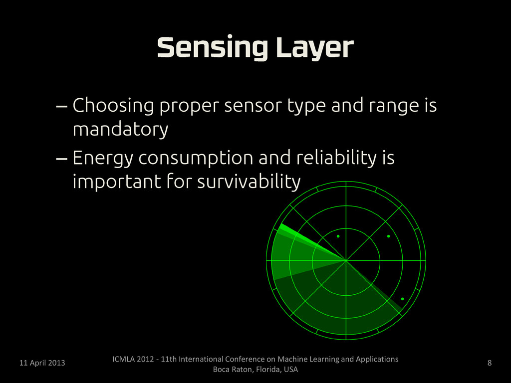 – Choosing proper sensor type and range is mand...
