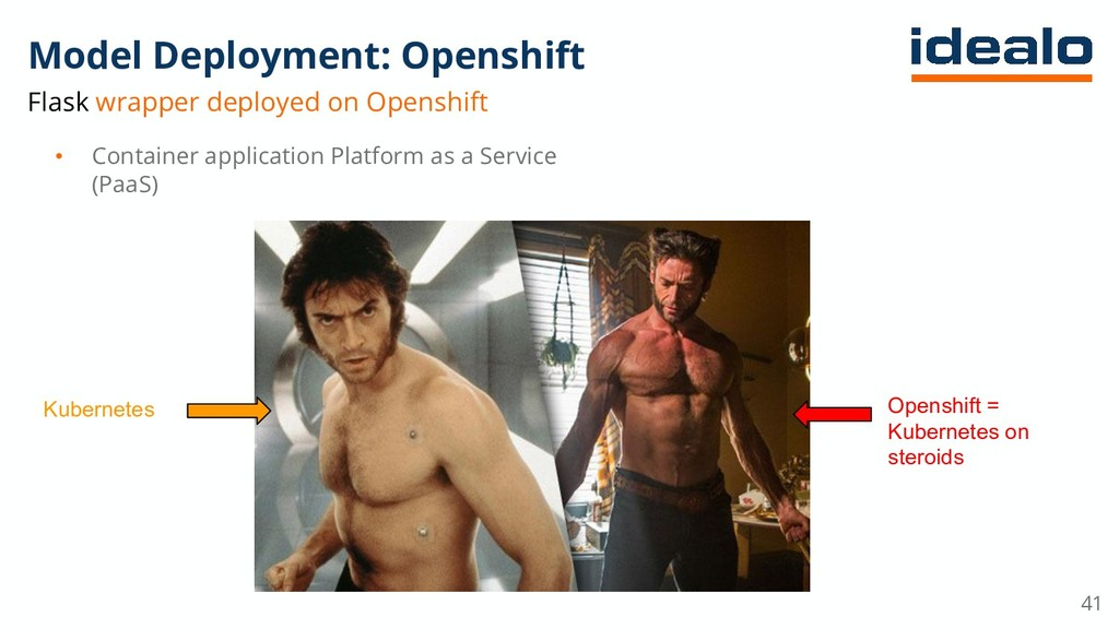 Model Deployment: Openshift Flask wrapper deplo...